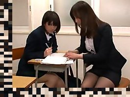 japanese lesbian teacher and student